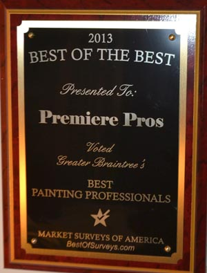 2013 Best of the Best Award