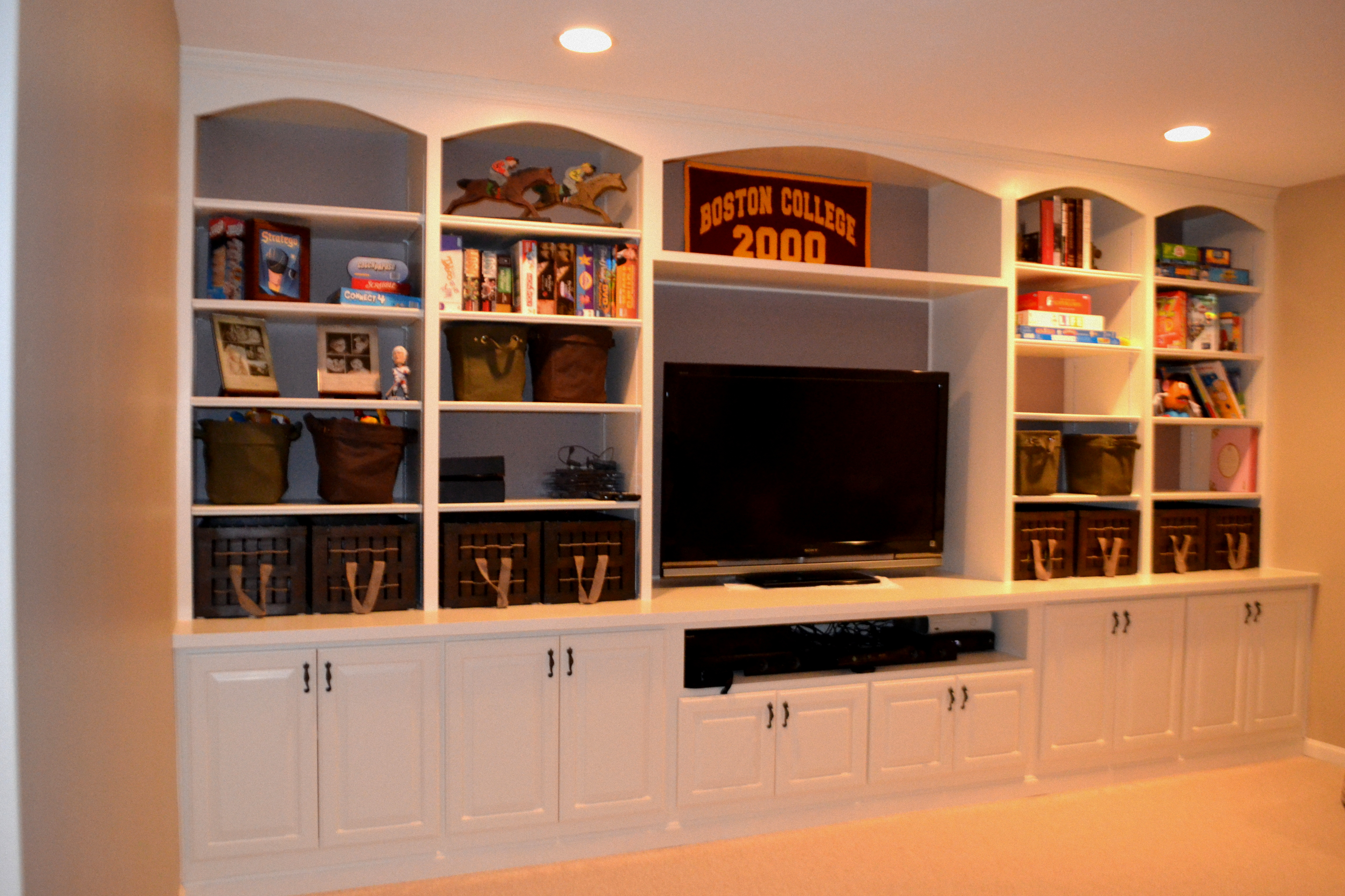 Custom Cabinetry Isn T Just For Your Kitchen Or Bathroom While Created Cabinets And Vanities Do Look Great You Can Also Benefit From Built Ins